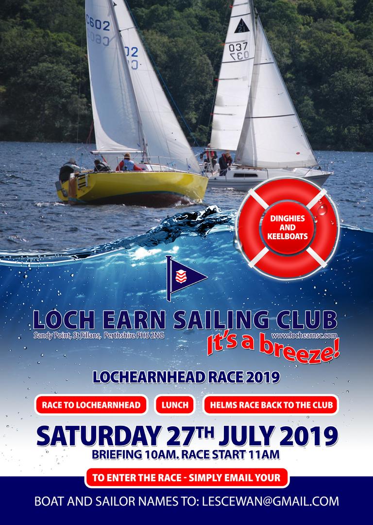 Loch Earn Sailing Club - Archived Club News